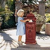 Design Toscano British Style Foundry Post Box