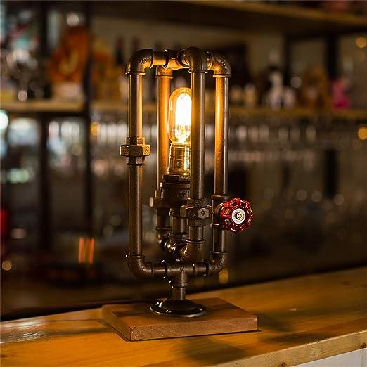 YIKEY-Luz de tubería de agua Lámpara del Tubo del Agua de la ...