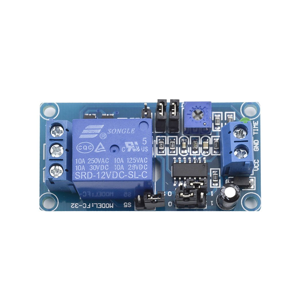 Dc 12v Delay Relay Board Turn On Off Switch Module With Automations Gt Power Control Current Loop Scr L14285 Next Timer