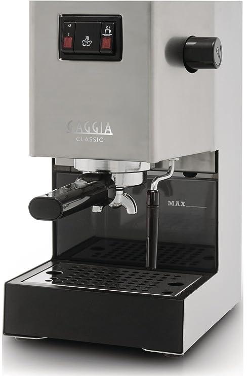 Gaggia Classic Independiente Manual Máquina espresso 2.1L 2tazas Acero inoxidable - Cafetera (Independiente,