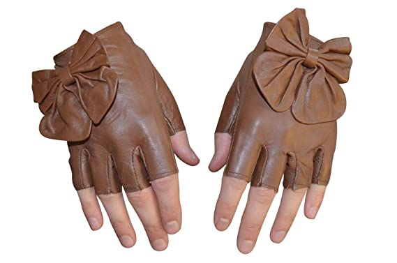 Paire de Mitaines en cuir d agneau gants Femme 6 couleurs  Amazon.fr ... bffe27d673b