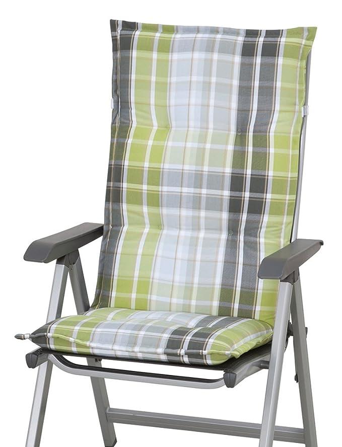 Sun Garden 10150008 10427-710 Naxos Coussin pour Fauteuil Haut Polyester 118 x 49 x 6 cm