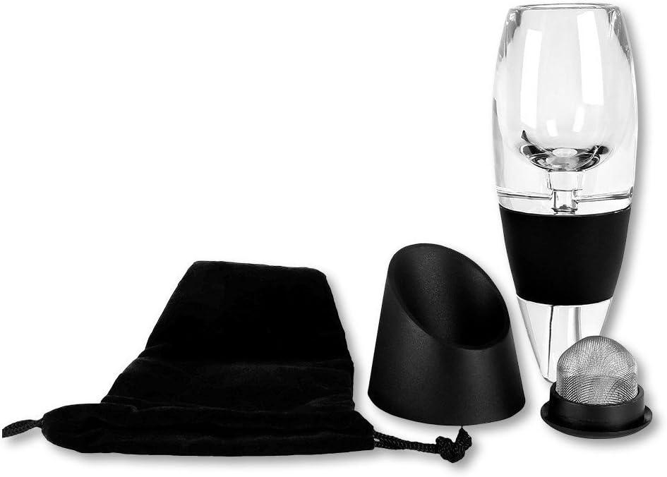 filtre et pr/ésentoir Vigoureux a/érateur de vin en acrylique avec bec verseur