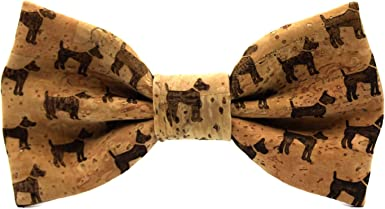 Pajarita de corcho Dog. Colección de moda hombre: línea boda y ...