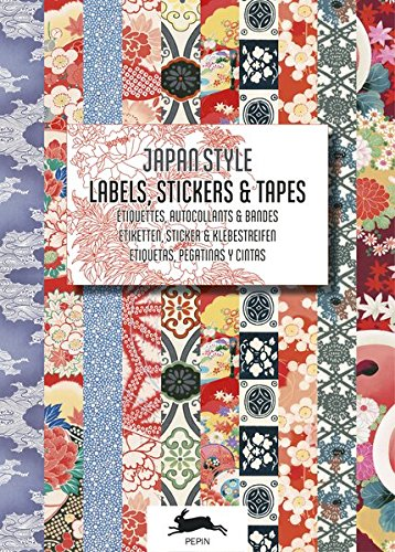 Japan (Label & Sticker Books) (English and German Edition) (Pepin Press)