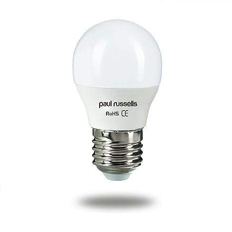 Paul Russells - Bombillas LED de repuesto de 7 W=60 W, casquillo Edison
