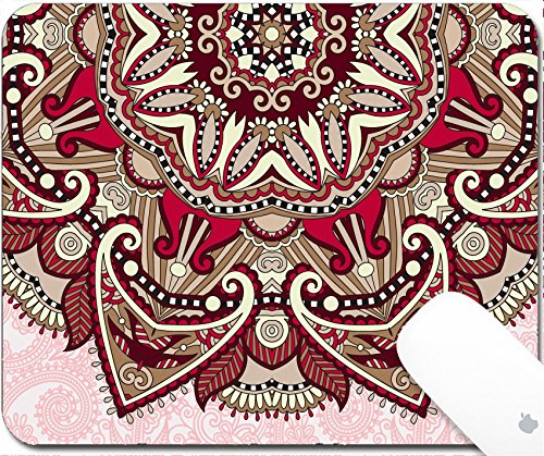 pad 9.25in X 7.25in IMAGE: 32864976 floral round pattern in ukrainian oriental ethnic style for your greeting card or invitation template design for card vintage lace doily vecto (Doily Lace Labels)