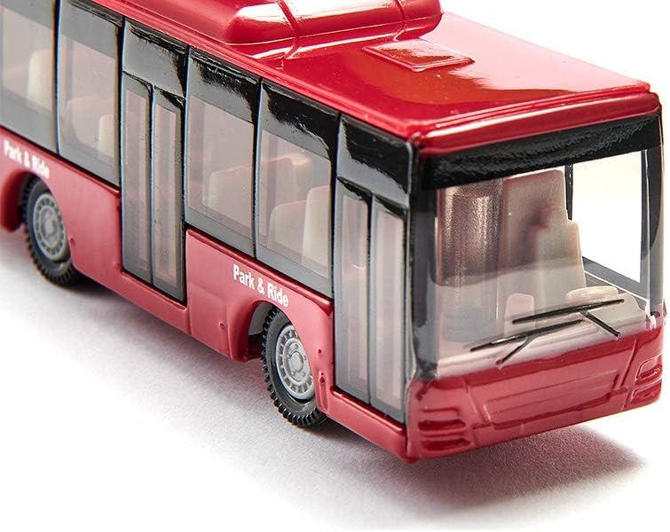 Doppelstock-Reisebus rot Spielzeugauto f/ür Kinder Metall//Kunststoff SIKU 1321