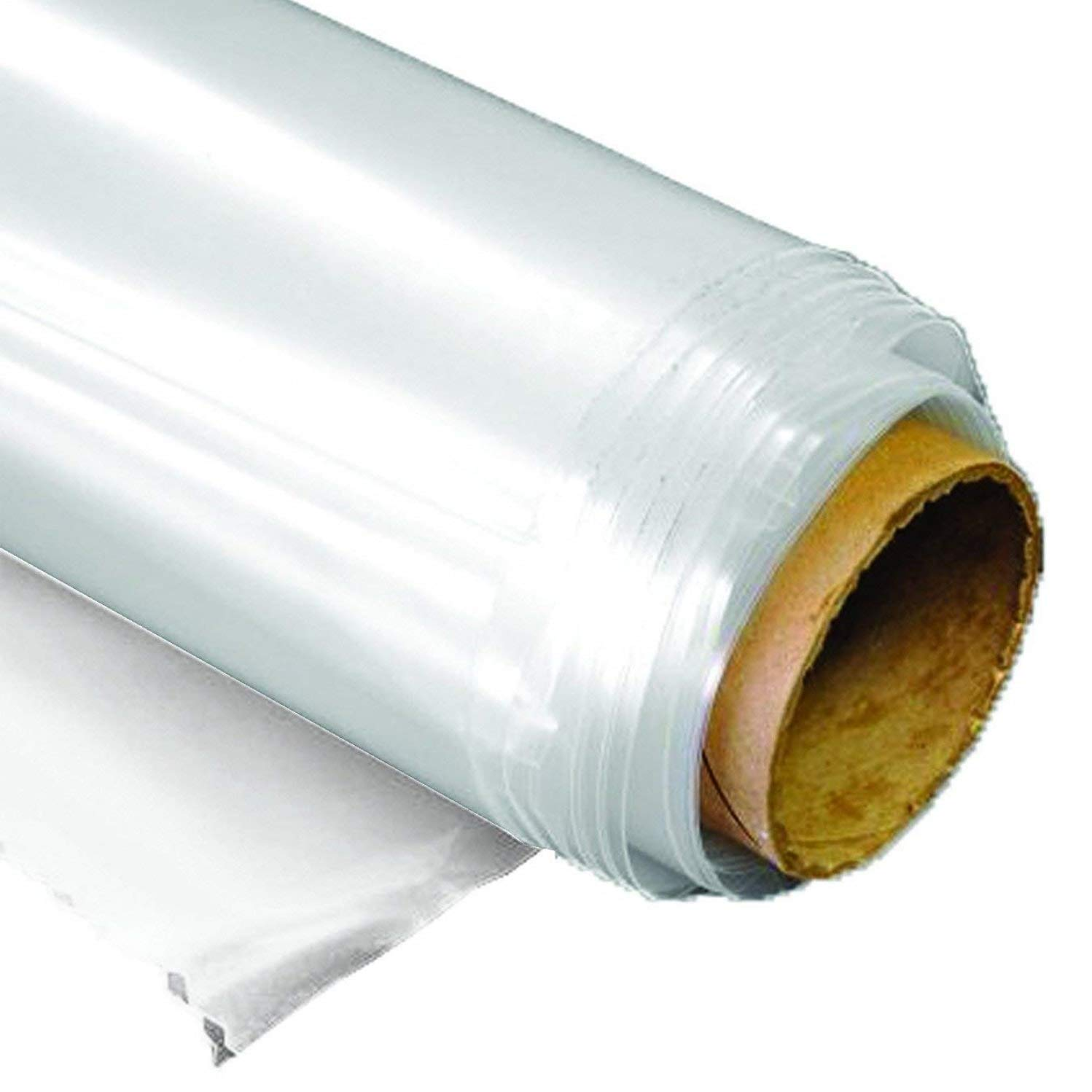 Greenhouse Film Clear 6 mil, 4 year, polyethylene plastic, 16ft x 100ft