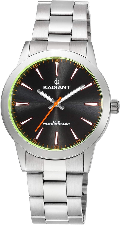 Radiant Reloj Analógico para Hombre de Cuarzo con Correa en Acero Inoxidable RA409202