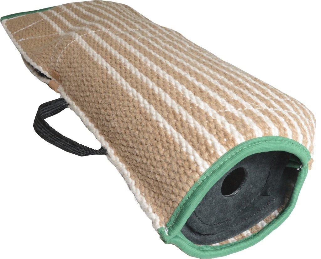 Viper Jute Puppy Bite Sleeve for Training Schutzhund Police K9 Tracking Level 3 with Shoulder Guard Option