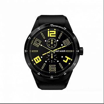 GPS Reloj Inteligente WiFi GSM/WCDMA 2G/3G Ranura Reloj Inteligente para Tarjeta SIM Cámara Bluetooth altavoz Auricular Android 5.1 Teléfono: Amazon.es: ...