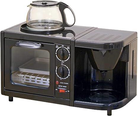 Combinación 3 en 1 con horno, plancha y cafetera eléctrica para ...