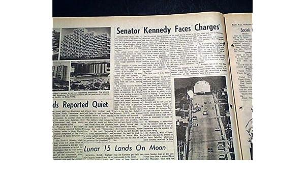 Amazon com: CHAPPAQUIDDICK ACCIDENT Mary Jo Kopechne & Senator Ted