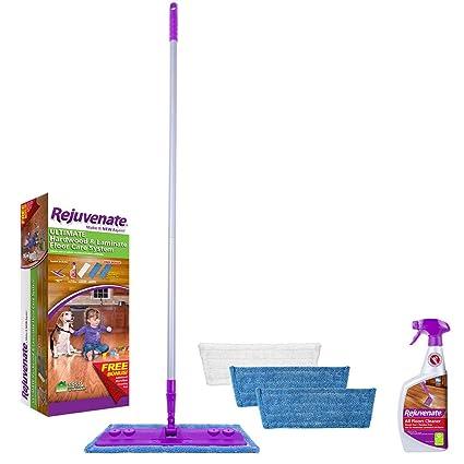 Amazon Com Rejuvenate Hardwood And Laminate Floor Cleaning Mop Kit