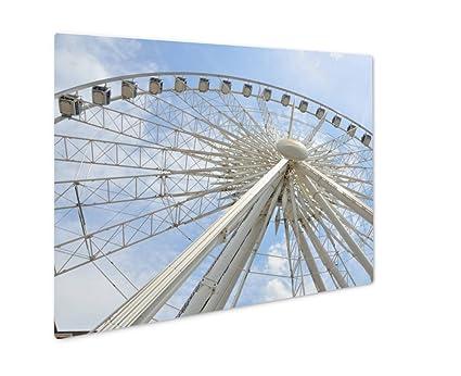 Amazon.com: Ashley Giclee Metal Panel Print, Ferris Wheel At Atlanta ...
