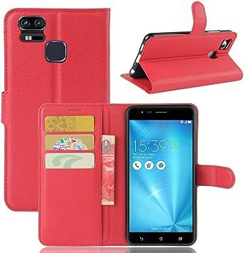 Guran® Funda de Cuero PU para ASUS Zenfone 3 Zoom S ZE553KL ...