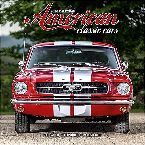 American Classic Cars Calendar 2020