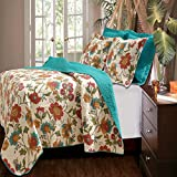 Greenland Home Clearwater 3-Piece Quilt Set, King