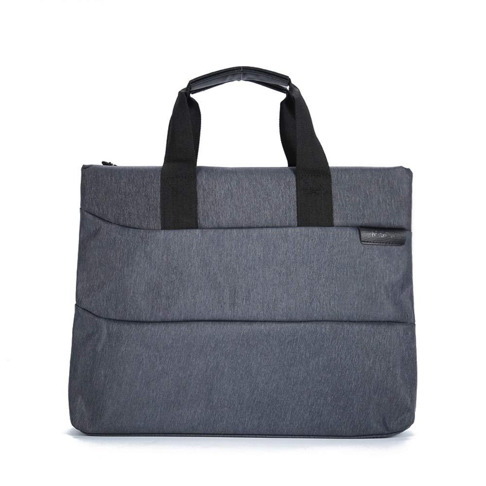 GaoJinZhuan Tragbare Dokumententasche A4 Reißverschlusstasche Baumwolle Canvas Datei Aktentasche Mode Business Broschüre Konferenztasche B07M643QYG | Haltbarkeit