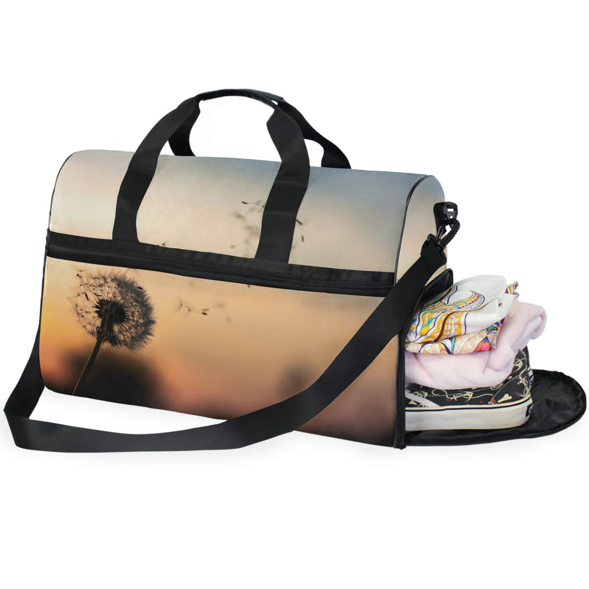 Gym Vacation Travel Duffel Bag Waterproof Lightweight Luggage bag for Sports