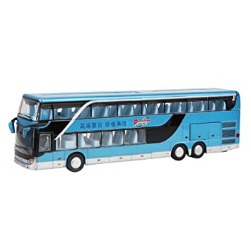 Autobús Dos Juguete Zerodis Aleación De Pisos Modelo WIYeDH2E9