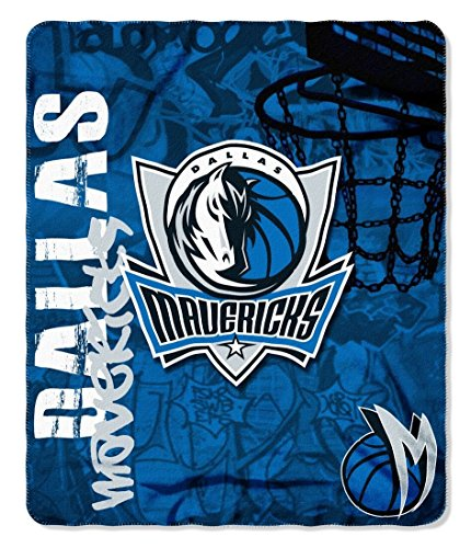 Dallas Mavericks 50x60 Fleece Blanket - Hard Knock Design