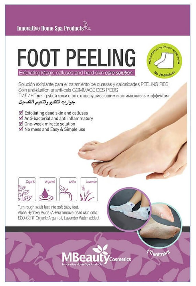Calluses Peeling Mask for Feet - Get Baby Soft Feet Best Foot Peel Exfoliation Mask -Hard & Dead Skin Remover. by Mbeauty