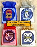 Dr. Erica Warren Executive Functioning Card Games Bundle
