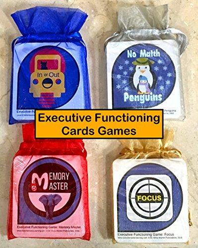 Executive Functioning Card Games Bundle - Executive Card