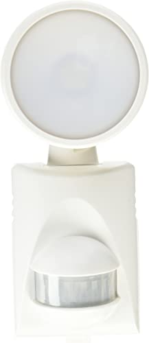 Heath Zenith HZ-5990-WH-A 200 lm Battery Powered LED Motion Light, White