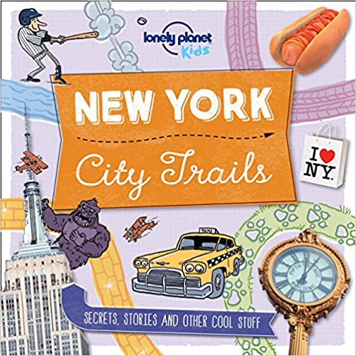 New York 1st Ed. Lonely Planet City Trails