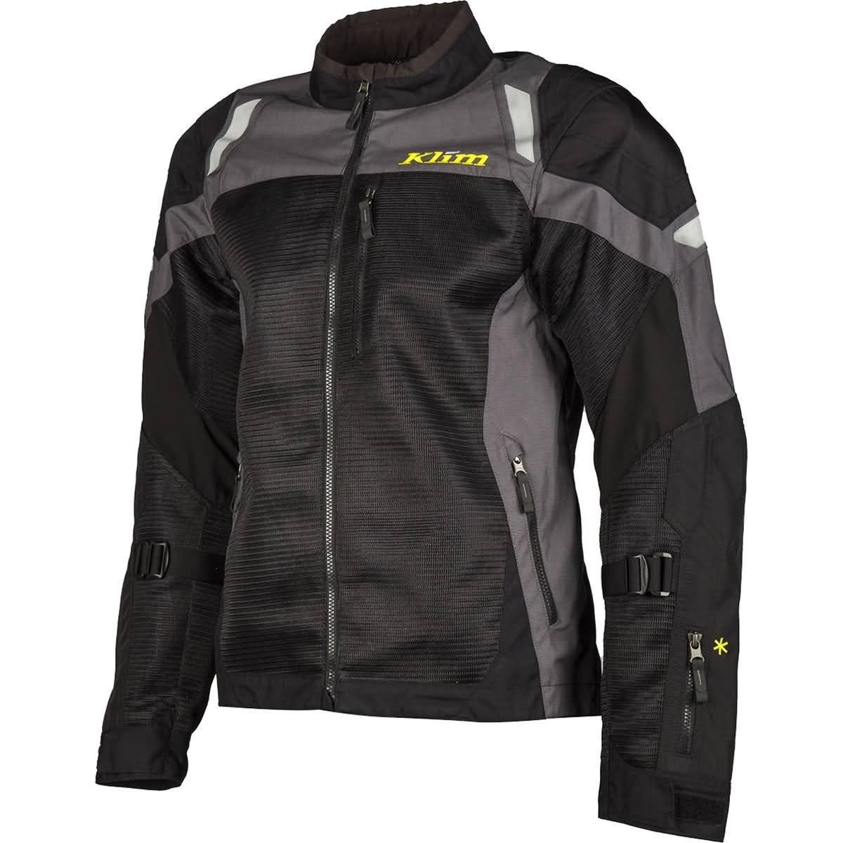 Klim Induction Men's Street Motorcycle Jackets - Dark Gray/Large