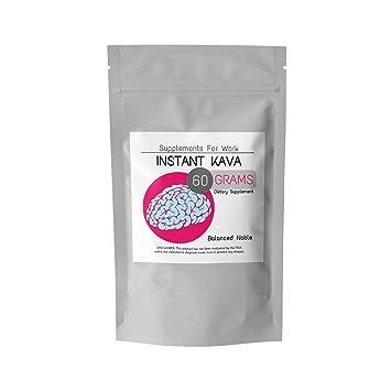Premium Micronised Instant Balancedle Kava Powder Supplement 60 Grams Nootropic For Memory