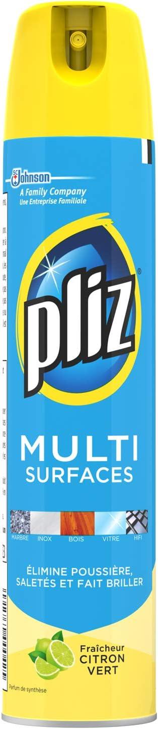 Pliz Multi-Surface Spray Cleaner Fresh Lime 250 ml – Set of 4:  Amazon.co.uk: Health & Personal Care