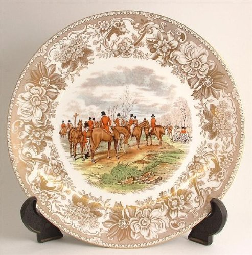 (Spode Hunting Scenes The Meet produced from engravings after J F Herring LE of 2000 ONLY CP167)