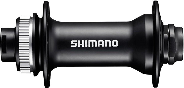 Shimano Vorderradnabe hb-mt400 centerlock 36 trous Arbre de roue 15 mm 100 mm Noir