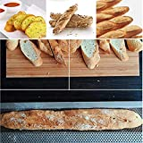 MOME-EB 4 Slot French Bread Baking Tray Non Stick