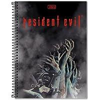 Caderno Universitário Resident Evil Capa Dura 200 Folhas Tilibra