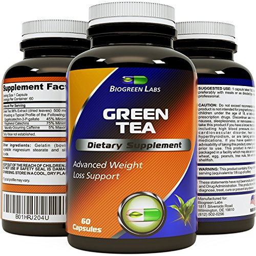 Green Tea Naturally Supplement Biogreen product image