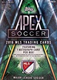MLS 2016 Topps Apex Major League Soccer Blaster Box