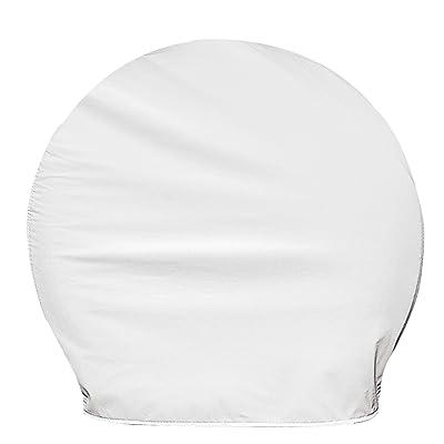 "ADCO 3949 Ultra Tyre Gard Wheel Cover,White,40"" - 42"": Automotive"