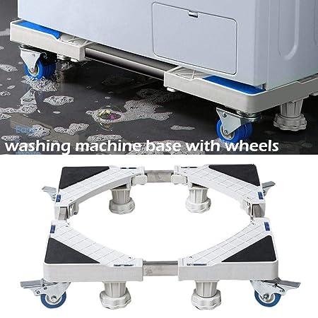 Base universal para lavadora móvil con ruedas - Soporte para ...