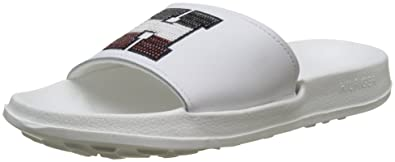 64532f6e6 Tommy Hilfiger Women s Sequins Sparkle Pool Slide Beach Shoes ...