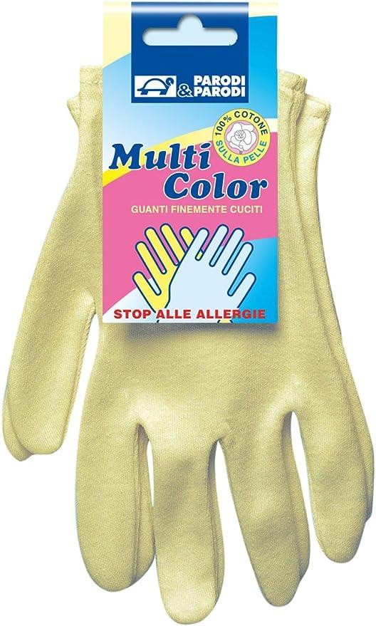 Guantes de algodón,guantes de algodón de un solo tamaño, guantes multiuso de algodón, guantes hipoalergénicos en algodón puro para la limpieza, la caja de guantes, un tamaño de, art. 230 Parodi: Amazon.es: