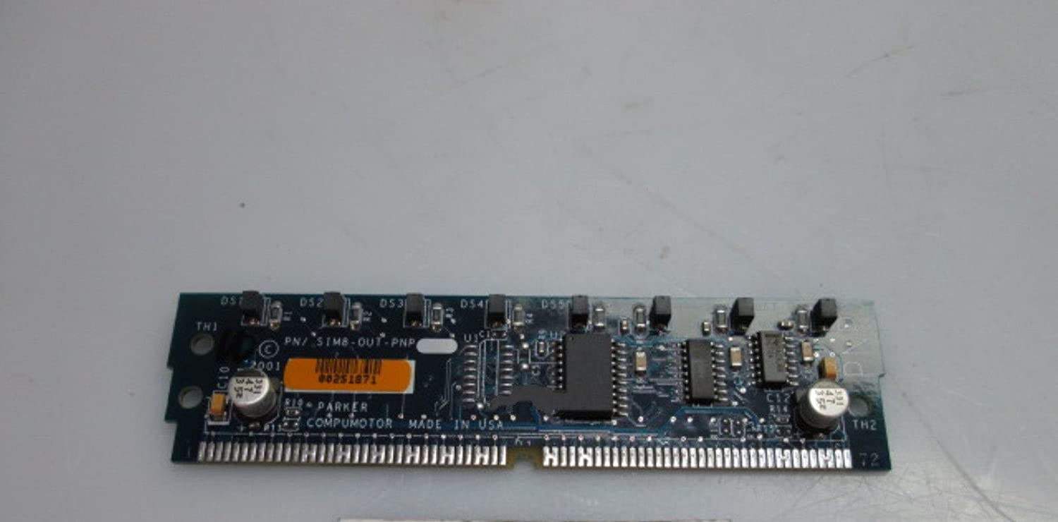 Parker Compumotor SIM8-OUT-PNP Output Module Board for 6K Drives 71-020191-01 A