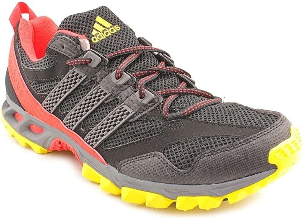 Volver a llamar Metro Egoísmo  Amazon.com | adidas New Kanadia 5 TR Black/Red Mens 13 | Trail Running