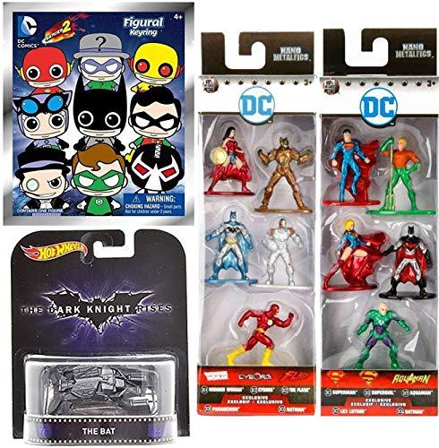 1.5 Inch Diecast Metal Figure by Jada DC52 Nano DC Justice League Superman