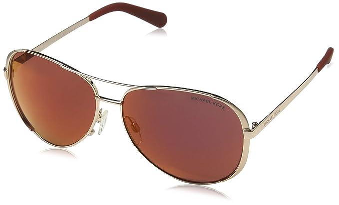 Michael Kors 0MK5004 Gafas de sol, Rose Gold Tone, 59 para ...