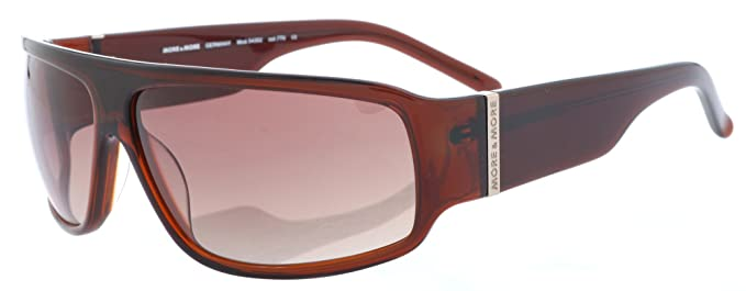 More and More Herren Sonnenbrille Braun Transparent 54302-770 AmjcSf
